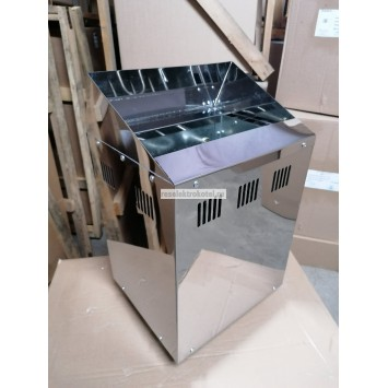 Электрокаменка 3 кВт (нержавеющая)